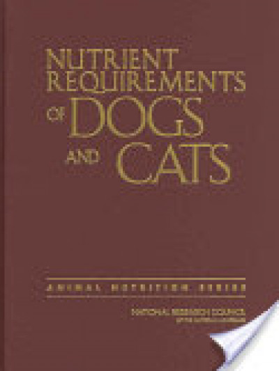 Libro: Nutrient requirements of dogs & cats