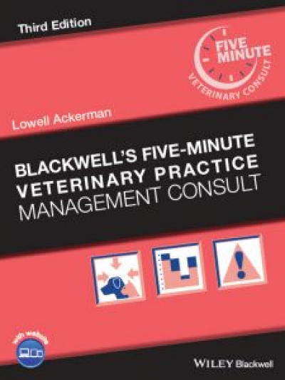 Libro: Blackwell's Five-Minute Veterinary Practice Management Consult, 3rd Edition