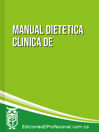 Libro: Manual dietetica clinica de mayo