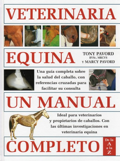 Libro: Veterinaria equina manual completo