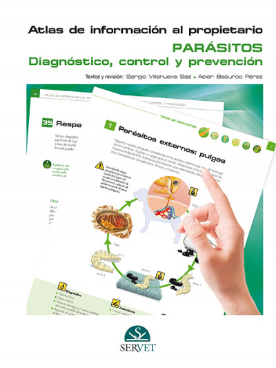 Libro: Atlas de infor. al prop.; parasitos; diag, control y prevencion. (incluye ebook)